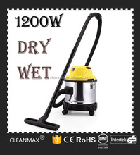 powerful auto car wash industrial dry and wet vacuum cleaner on heavy duty with blower and best price stainless