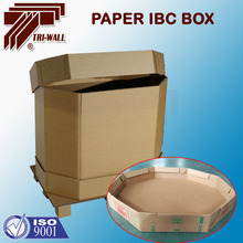 IBC liner container cardboard container for liquid