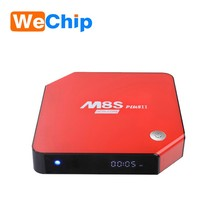 Octa core 3G 32G Android 6.0 tv box M8S plus II with KODI pre-installed Amlogic S912 TV Box