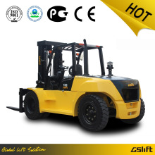 CE/EPA/GOST Approval China New Brand 10 Ton Diesel Forklift with Japanese Engine