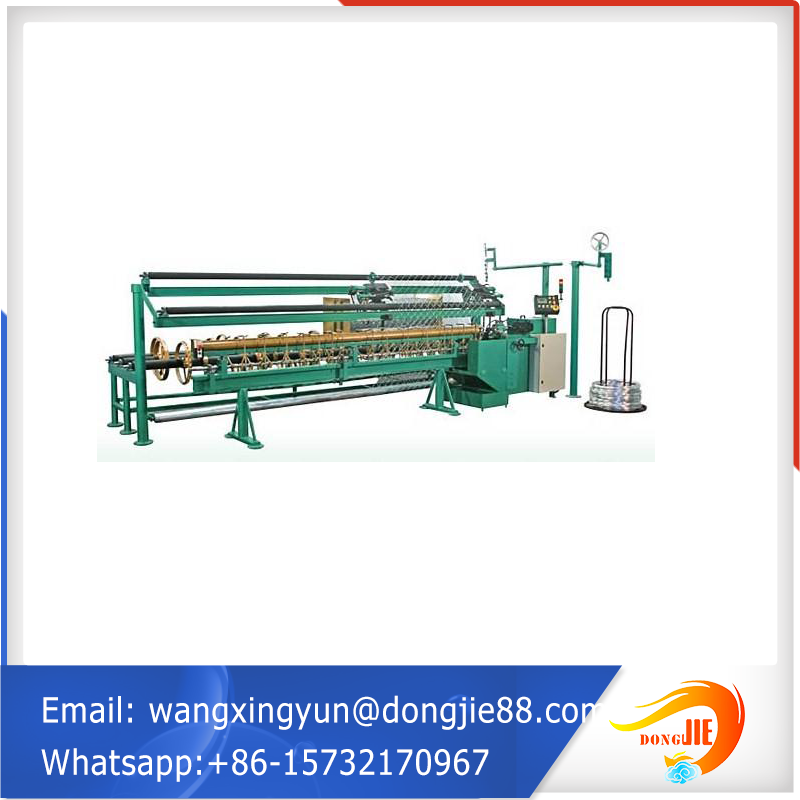 customized semi-automatic chain link fence machine
