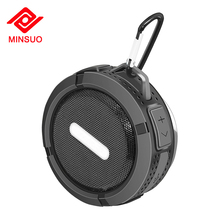 Promotional FM radio suction cup portable mini outdoor waterproof music bluetooth shower speaker