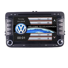 In stock Original UI rns 510 VW DVD GPS Navigation System with 3G Bluetooth Radio RDS USB SD Steering wheel Control Canbus