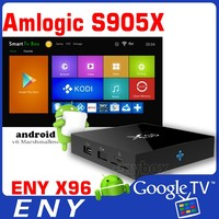 Original ENY X96 Android 6.0 TV Box 1G/8G Amlogic S905X Chip 4K Kodi Full HD Smart Media Player