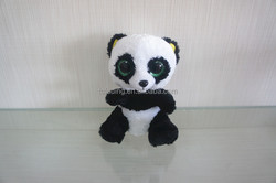 stuffed soft toys, plush big eyes panda/pig/monkey/elephant toys