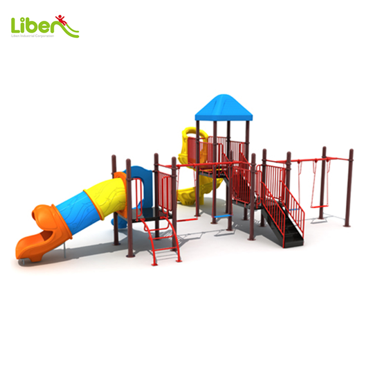 Children's Plastic Outdoor Play Ground For Garden Use