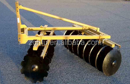 Farm implement disc harrow for tractor,compact tractor disc harrow