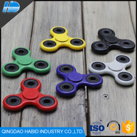 2017 New Style Anti Stress Wind Hand Tri-Spinner Cheap Price Custom Hand Fidget Spinner Toys With 608 Bearing