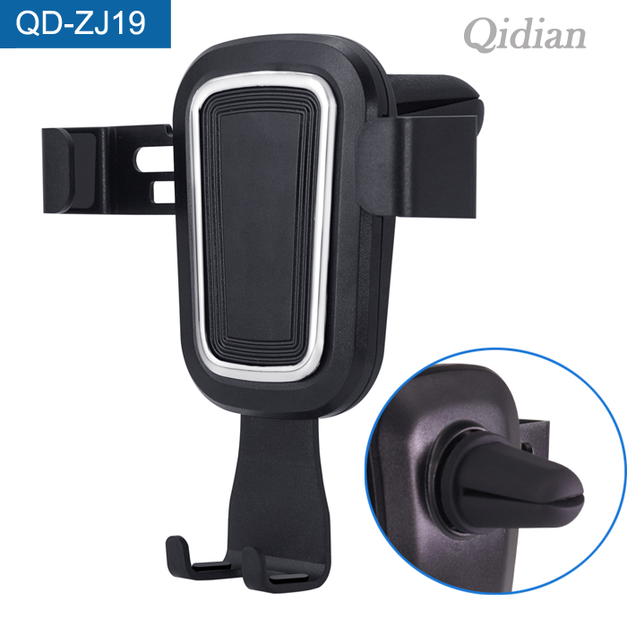 Wholesale Alibaba Mobile Gravity Phone Mount Holder Car AirVent Holder For 4-6.2 Inch Smart Devices