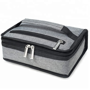 Wholesale Eco-friendly Portable Food Storage Insulated Adult Mini Lunch Bag For Men
