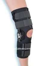 hinged knee brace of medical orthopedic rehabilitation products