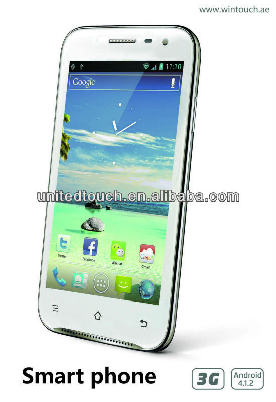 5 inch cell phone phone S7 MTK6577 WiFi GPS 3G made in China