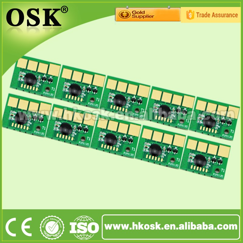 Black Toner cartridge chip for Lexmark MS310 MS410 MS510 MS610 Reset Drum chip