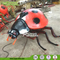 Animatronic Big Ladybug Insect Model