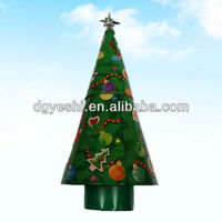 2013 Christmas tin tree gifts and decoratives