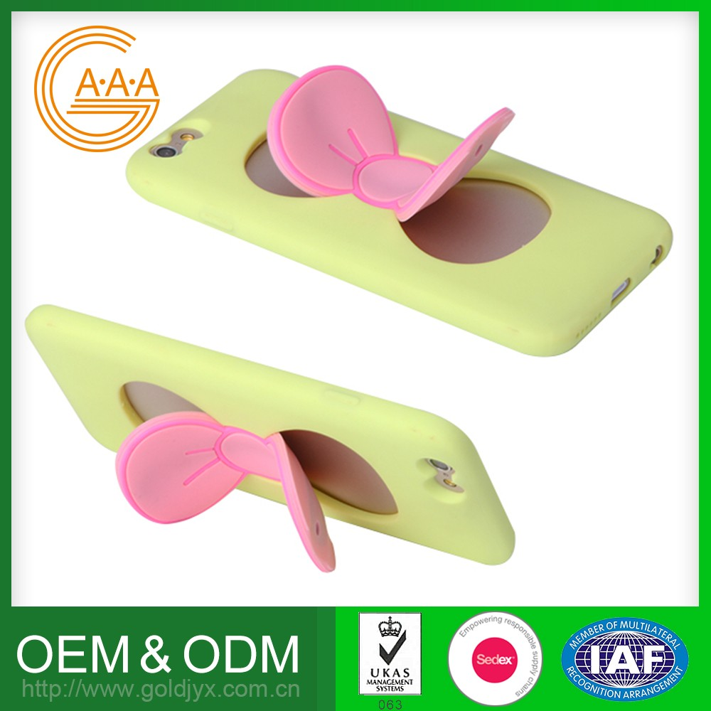 Customized Phone Holder Various Colors Cute Design Multifunctional Mobile Phone Holder