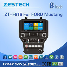 2 din 7 inch car dvd player for FORD Mustang car dvd player multimedia