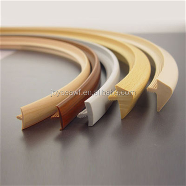Joy Sea Pvc Edge Banding Tape In Furniture Wood Grain Edge