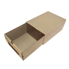 March Hot Selling Corrugated Drawer Shoebox With Flat Packing