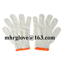 Brand MHR cotton lycra gloves rubber cotton dot gloves yellow cotton chore gloves