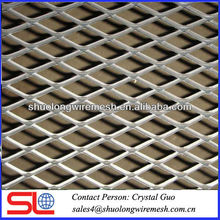 Durable and Fixed expanded metal mesh for car ramp or walkway