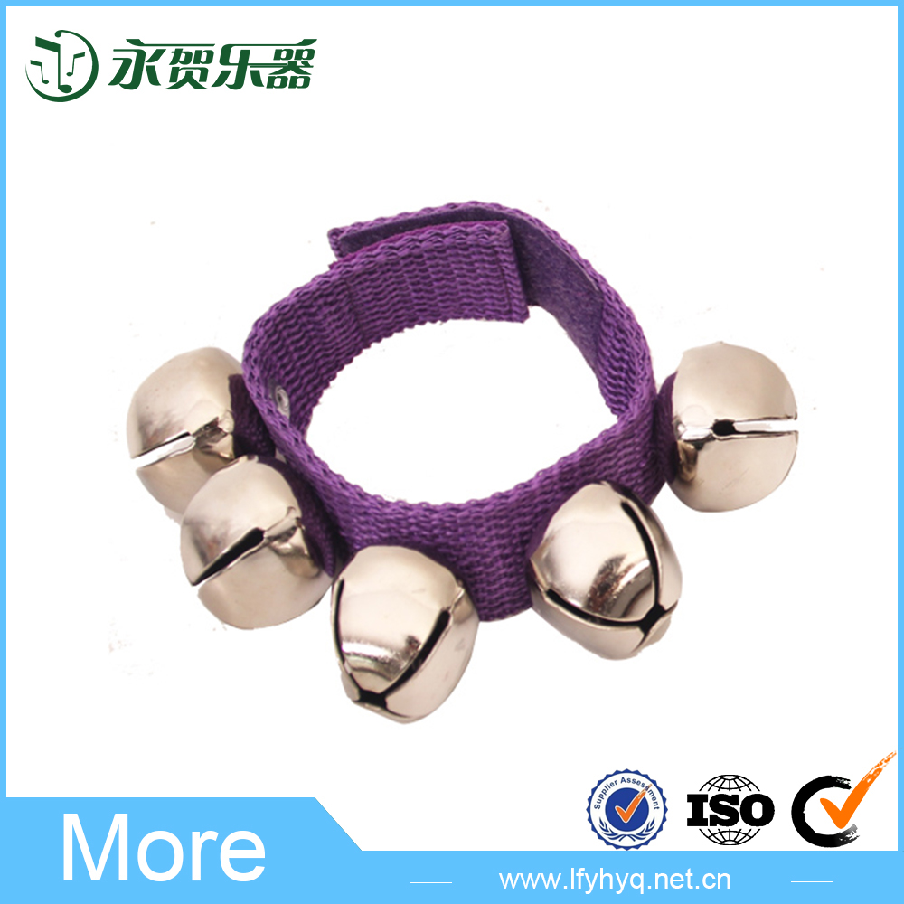 China wholesale promotion hand bells baby toy music
