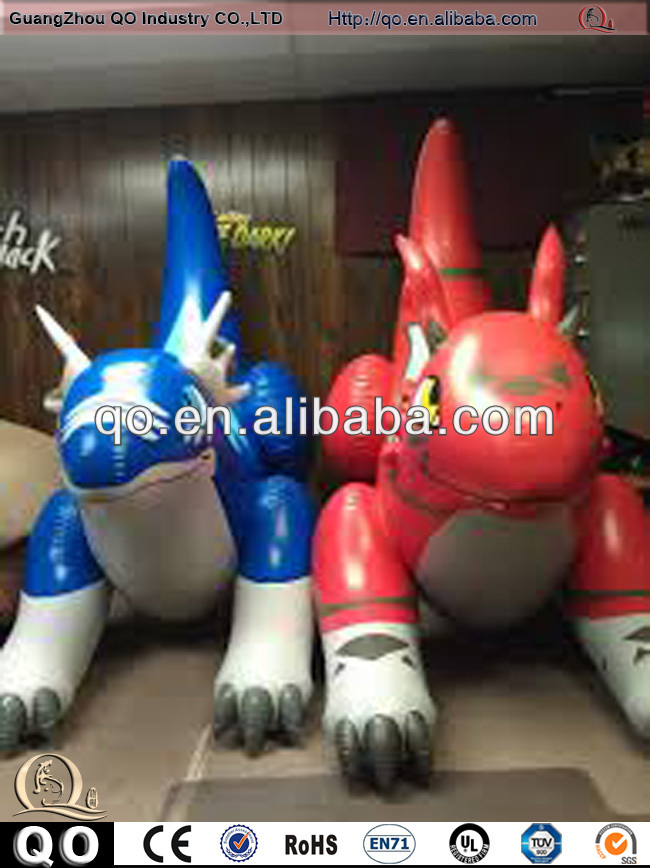 2014 most popular zenith inflatable dragon for sale