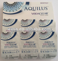 vodaclear monthly prescription clear contact lenses