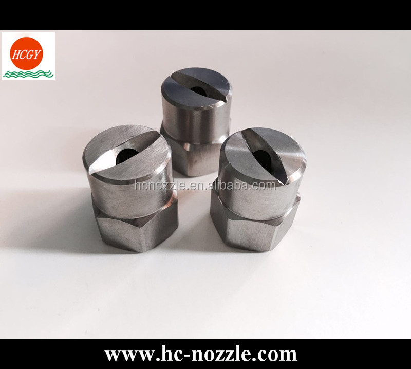 Female Thread Flat Fan Spray Nozzle