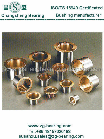 bimetal bearing bush, connecting rod bushes, engin parts bushing