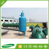 New technology waste used engine oil crude oil sludge oil recycling machine to diesel