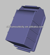 2013 plastic stackable recycling bin molding mold