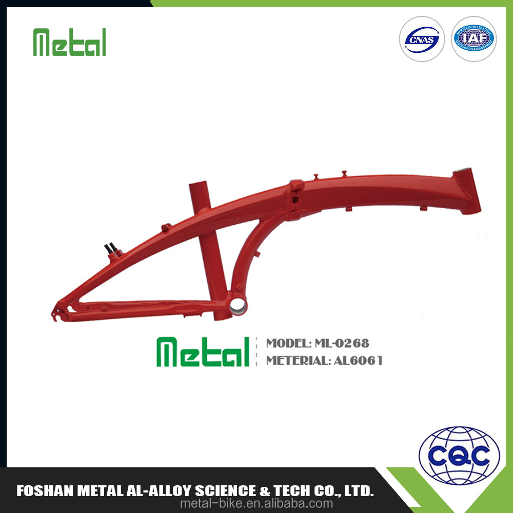 Low cost high quality bike frame alloy,gas bike frame
