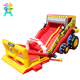 Large inflatable car model bulldozer bouncy castle castles slide with protective net
