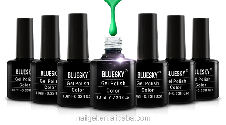bluesky free sample uv gel ,professional gel nail polish