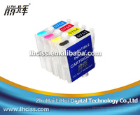 Refill ink cartridge T0751-T0754 with chip compatible for epson Stylus C59/CX2900/CX2905 printer