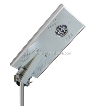 Shenzhen factory price longer service life strong brightness all in one solar street light