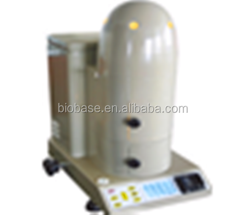Infrared moisture balance/moisture tester with double-lay thermal inslation