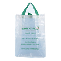 silk screen printing transparent reusable pp woven shopping bag