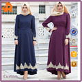 Hot Style High Quality New Design Long Sleeve Women Muslim dress