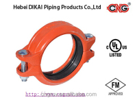FM UL Approved Grooved Fitting rigid coupling