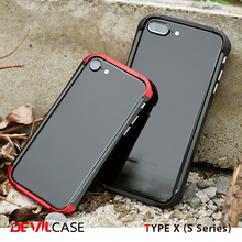 [DEVILCASE] Precise Alignment 100% A6061 Cellular Phone Bumper Case with PC Parts for iPhone 6 6s 6+ 6s+ 7 7+ Smart Phone