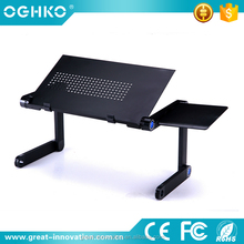 Popular Adjustable Recliner Laptop Table/Desk/Stand With Cooling Hole