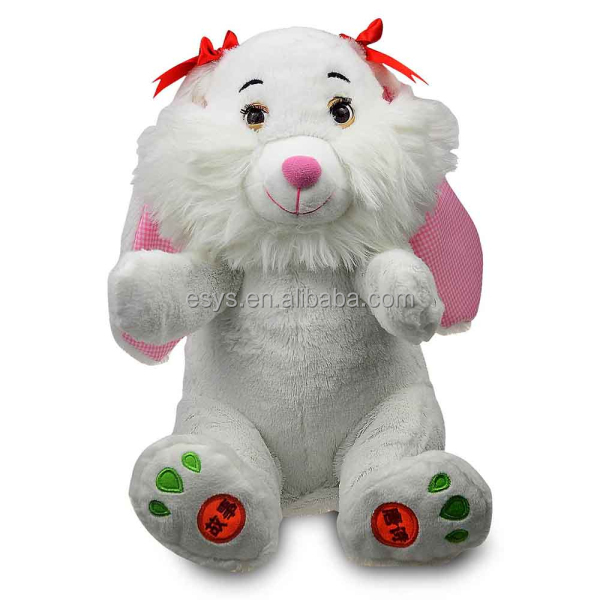 Over 18 years experience soft cute custom lovely christmas stuffed animals