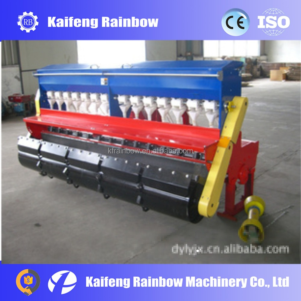 14 Rows rotary seed drill with Fertilizer