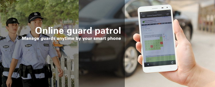 RFID waterproof guard tour tracking devices