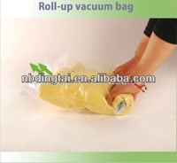 Nylon PE hand rolled travel vacuum packaging bag,drawer organizer