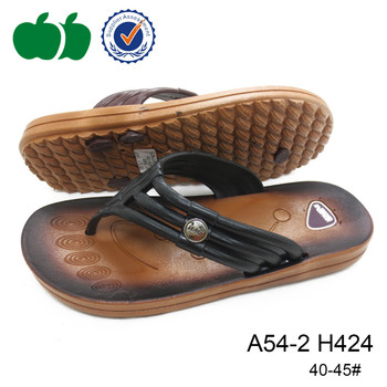 2015 fancy fashion style men slipper