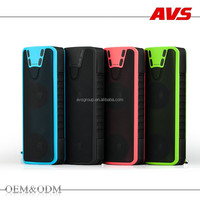 AVS 2016 quality products wholesale outdoor portable waterproof power bank speaker bluetooth