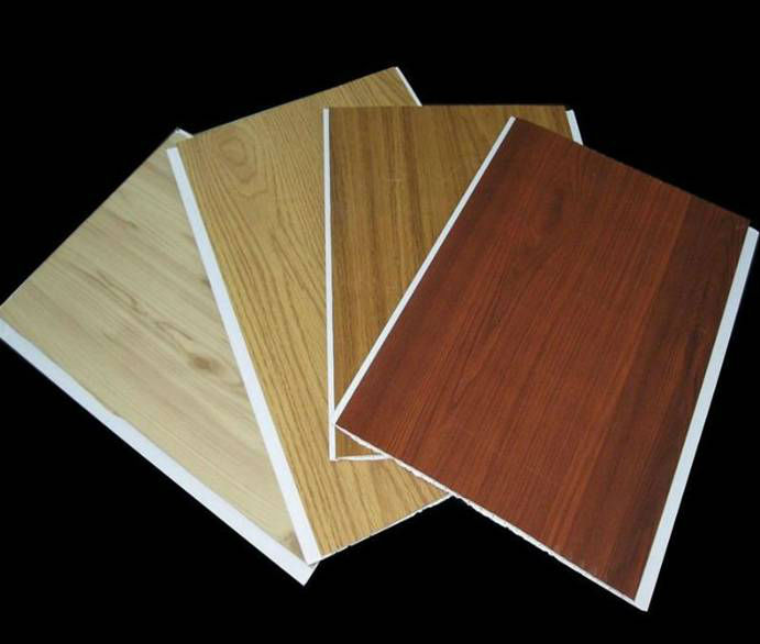 Interior pvc laminated wood wall panel buy pvc wall - Panneau bois mural interieur ...